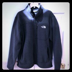Men's North Fleece fleece jacket. Size large.
